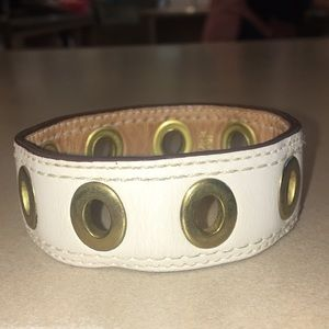 Authentic Coach Leather Braclet